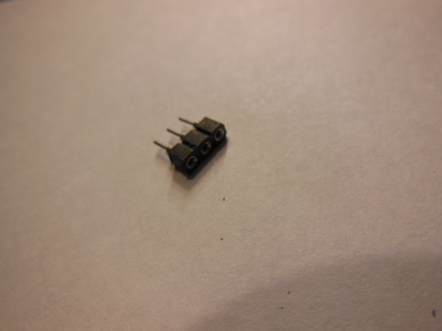 2.54mm pitch pin/socket connector-3 pins-FEMALE