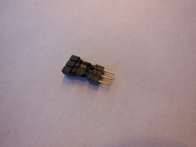 2.54F-2.00M 3pin Adapter