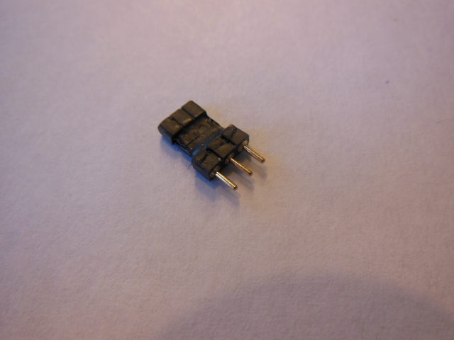 2.54M-2.00F 3pin Adapter