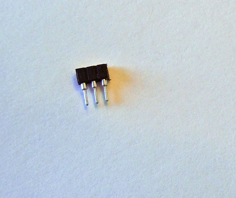 2mm pitch pin/socket connector-3 pins-FEMALE - Click Image to Close