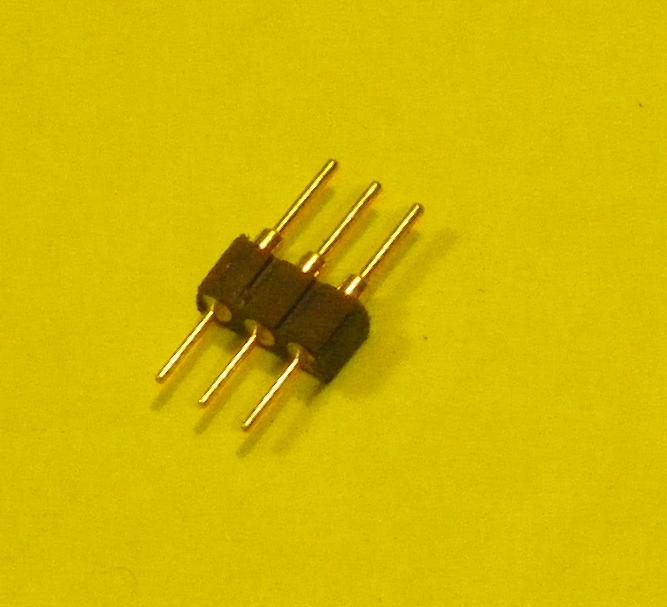 2mm pitch pin/socket connector-3 pins-MALE