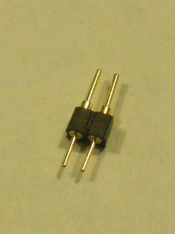 2mm pitch pin/socket connector-2 pins-MALE
