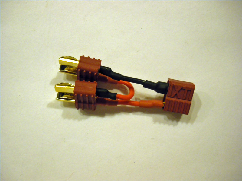 Deans T-Connector 2 to 1 serial