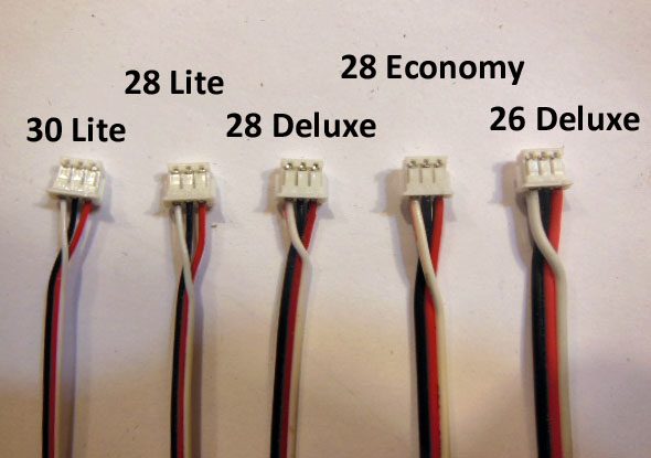 Spektrum Telemetry cable 3-pin with wires (JST-ZH)
