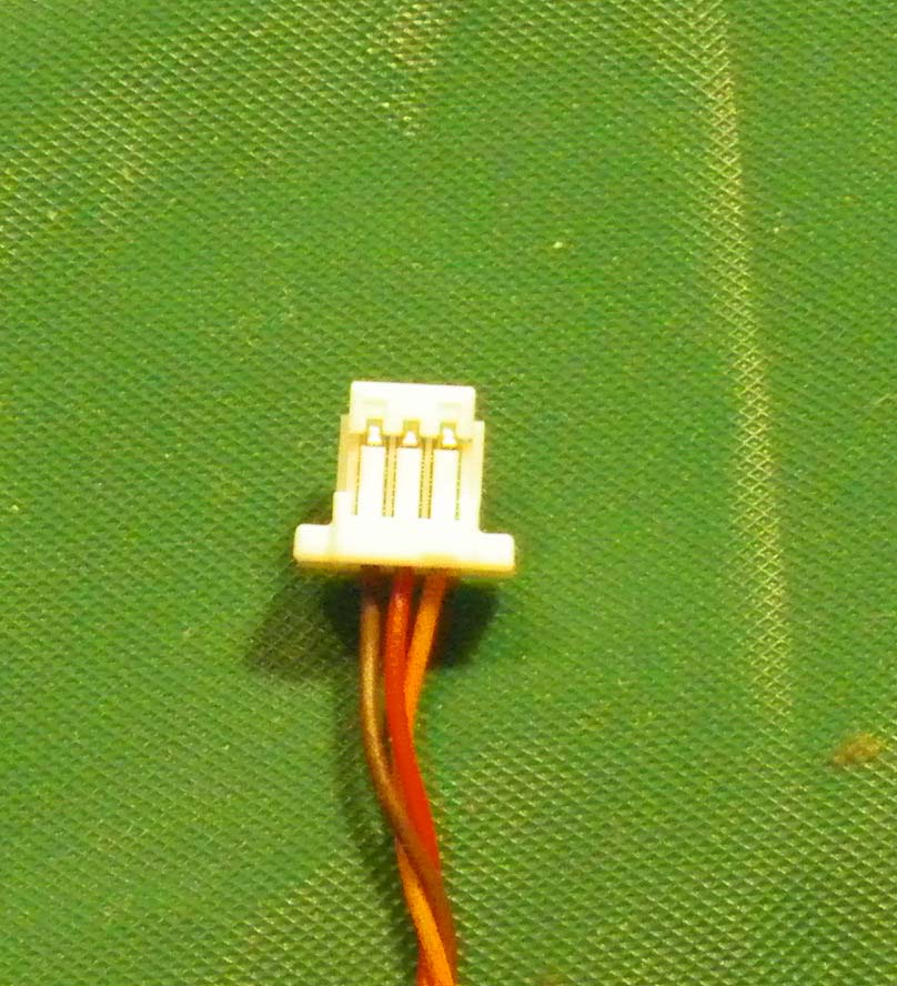 Nano-JST 3-pin with wires for AR6400
